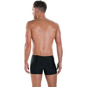 speedo Placement Panel Aquashorts Men Black/USA Charcoal/Fake Green